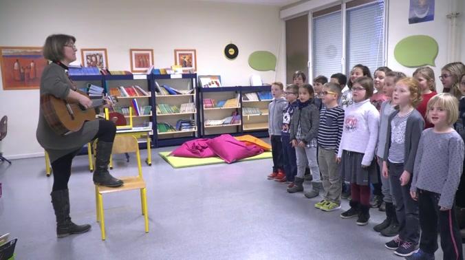 Les classes bilingues d'Obernai